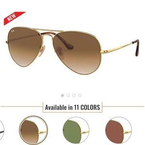 Ran Ban Aviator sunglasses